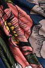 TORI PRAVER SWIMWEAR Knotted floral-print bandeau bikini top