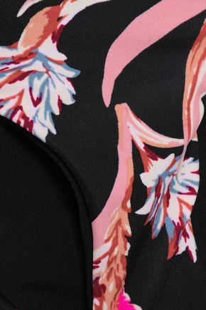 TORI PRAVER SWIMWEAR Floral-print low-rise bikini briefs