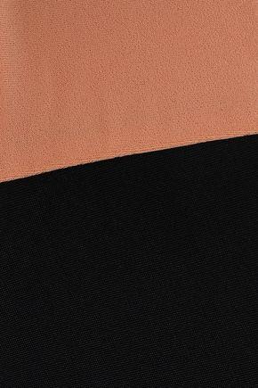 TORI PRAVER SWIMWEAR Two-tone low-rise bikini briefs