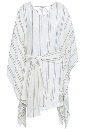 SUNDRESS Embellished gauze mini dress