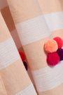 SUNDRESS Frida embellished cotton-gauze mini dress