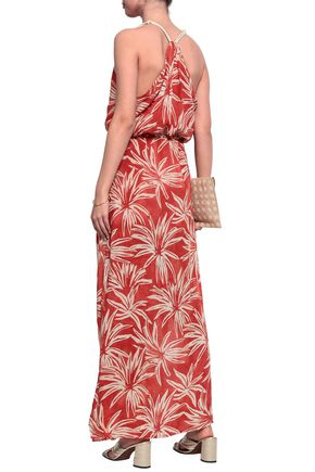 JETS AUSTRALIA by JESSIKA ALLEN Printed voile maxi dress