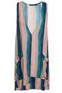 VIX PAULA HERMANNY Striped voile mini dress