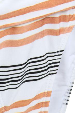 VIX PAULA HERMANNY Striped low-rise bikini briefs