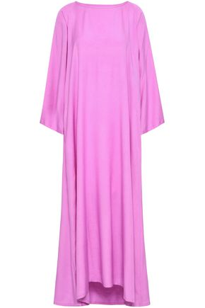 SUNDRESS Alaia tassel and bead-embellished woven coverup