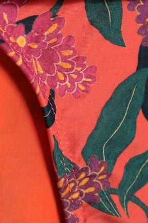 VIX PAULA HERMANNY Embellished printed low-rise bikini briefs