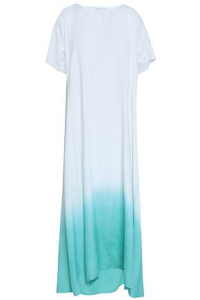 SUNDRESS Alaia embellished dégradé woven maxi dress