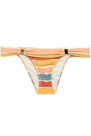 VIX PAULA HERMANNY Striped low-rise bikini briefs