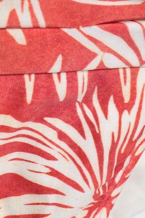 JETS AUSTRALIA by JESSIKA ALLEN Printed ruched low-rise bikini briefs