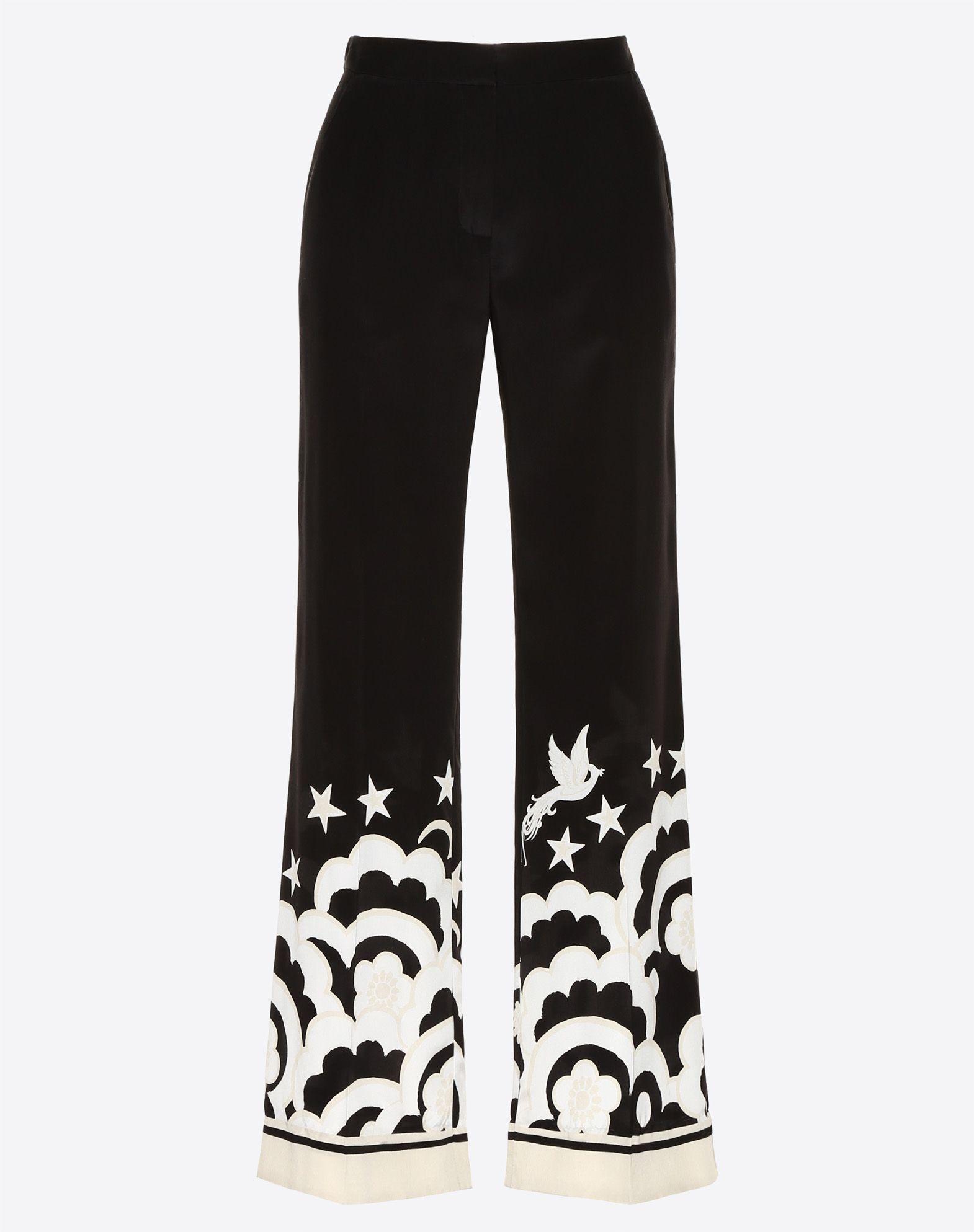 Phoenix Crepe de Chine Pyjama Trousers