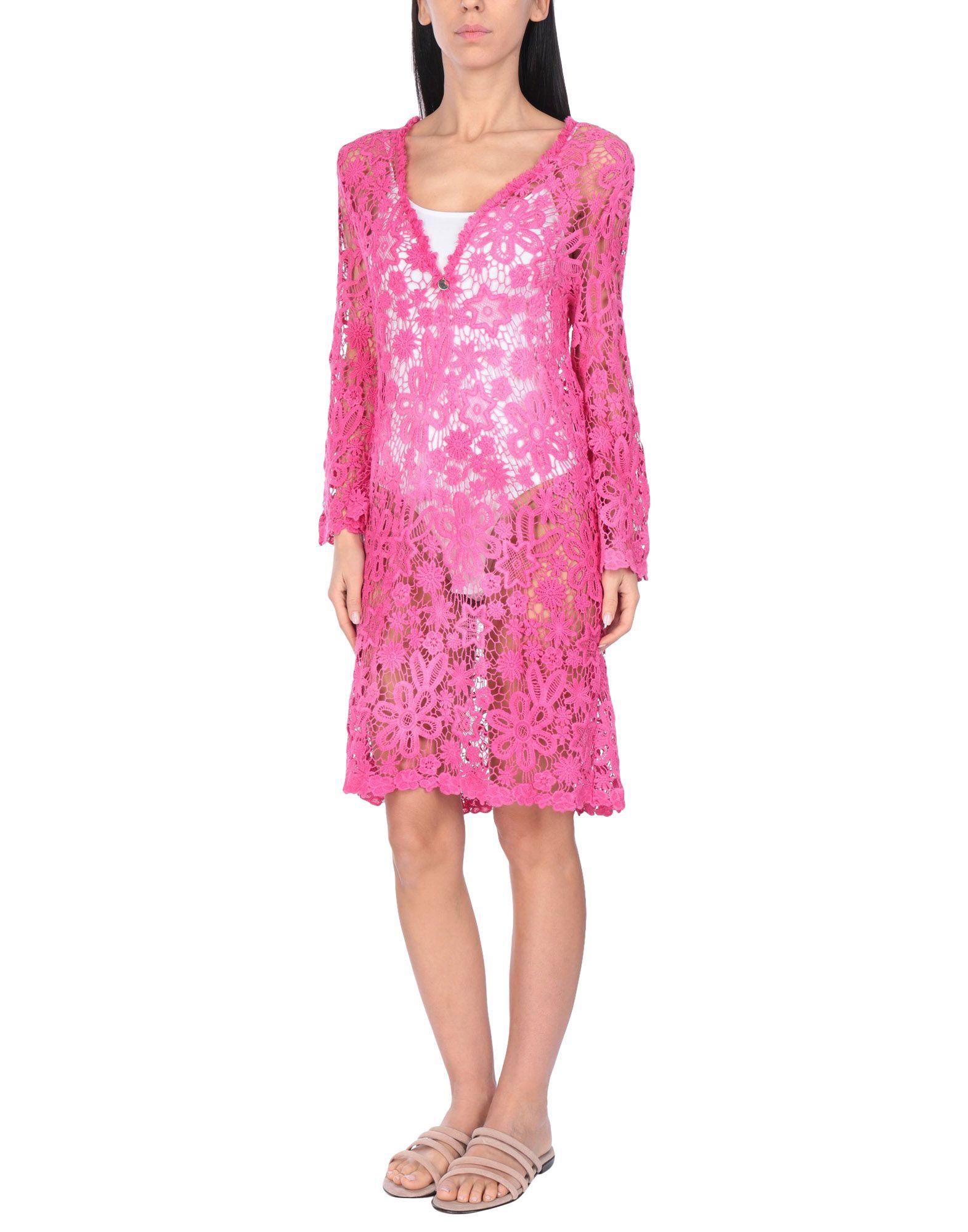 BLUMARINE BEACHWEAR Пляжное платье пляжное прозрачное платье blugirl beachwear