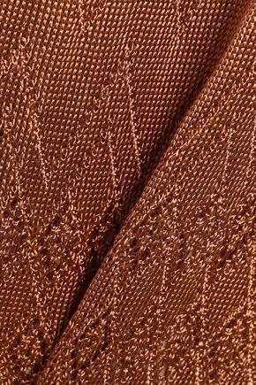 MELISSA ODABASH Kourtney crochet-knit coverup