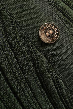 MELISSA ODABASH Arianna crochet-knit coverup