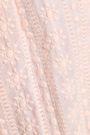 MELISSA ODABASH Embroidered cotton-gauze coverup