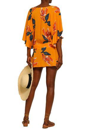 JETS AUSTRALIA by JESSIKA ALLEN Printed voile mini dress