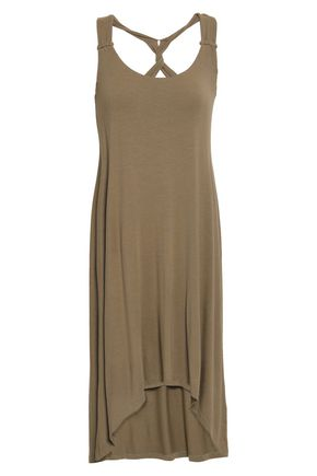 HEIDI KLEIN Twist-back modal-blend jersey dress