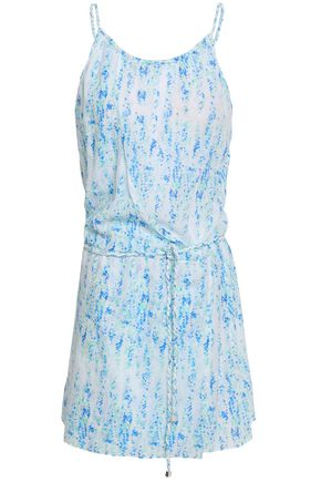 HEIDI KLEIN Printed cotton-gauze coverup