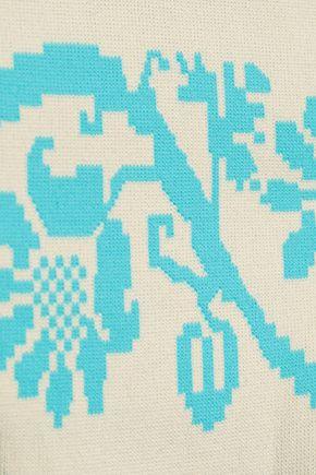 HEIDI KLEIN Jacquard-knit low-rise bikini briefs
