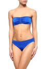 STELLA McCARTNEY Ruched bandeau bikini top