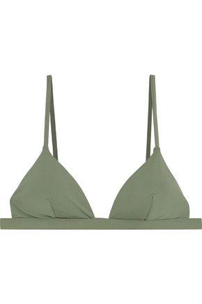 ONIA Danni triangle bikini top