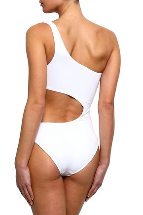 MELISSA ODABASH Florence one-shoulder cutout swimsuit