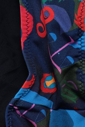 MISSONI MARE Printed wrap bikini