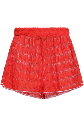 MISSONI MARE Crochet-knit shorts