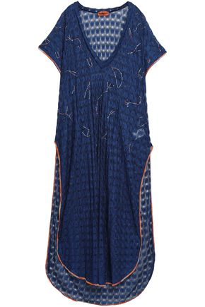 MISSONI MARE Embellished crochet-knit coverup