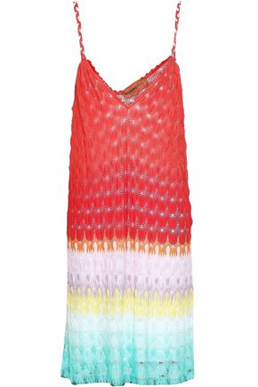 MISSONI MARE Crochet-knit mini dress