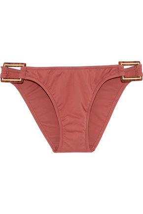 MELISSA ODABASH Paris embellished low-rise bikini briefs