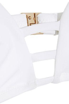 MELISSA ODABASH Perth cutout triangle bikini top