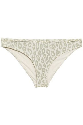 LOVE STORIES Firecracker leopard-print low-rise bikini briefs