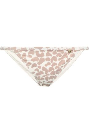 LOVE STORIES Wild Rose leopard-print low-rise bikini briefs