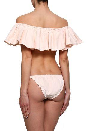 LOVE STORIES Lula twill low-rise bikini briefs