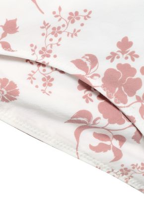 LOVE STORIES Zoey floral-print low-rise bikini briefs