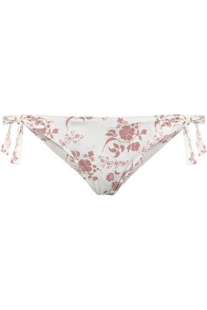 LOVE STORIES Zoey floral-print low-rise bikini briefs