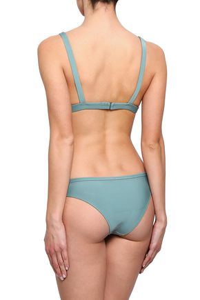 LOVE STORIES Eve lace-up mid-rise bikini briefs
