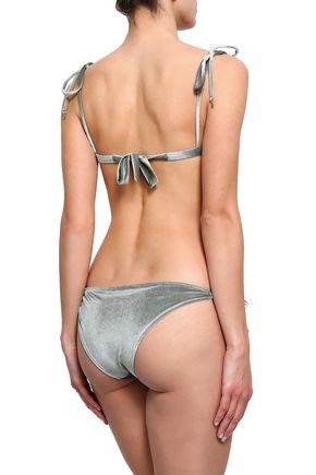LOVE STORIES Miss Daisy bow-detailed triangle bikini