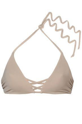 TORI PRAVER SWIMWEAR Cutout triangle bikini top