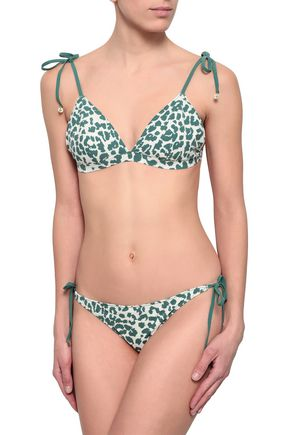 LOVE STORIES Vanity leopard-print low-rise bikini briefs