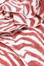 LOVE STORIES Bobby ruffled zebra-print low-rise bikini briefs