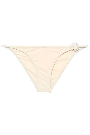 MORGAN LANE Embellished low-rise bikini briefs