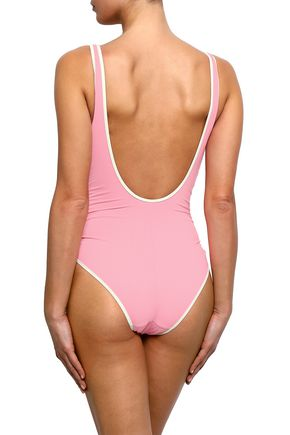 MORGAN LANE Ruched swimsuit
