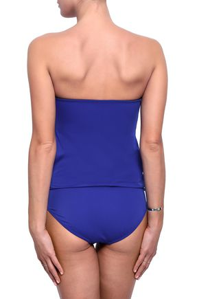 NORMA KAMALI Strapless ruched swimsuit