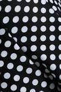 NORMA KAMALI Polka-dot skirt-style overlay underwire swimsuit