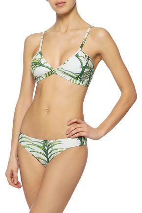 IRIS & INK Emery printed triangle bikini