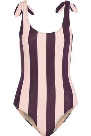 IRIS & INK Marlene knotted swimsuit