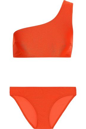 IRIS & INK Tulip one-shoulder bikini