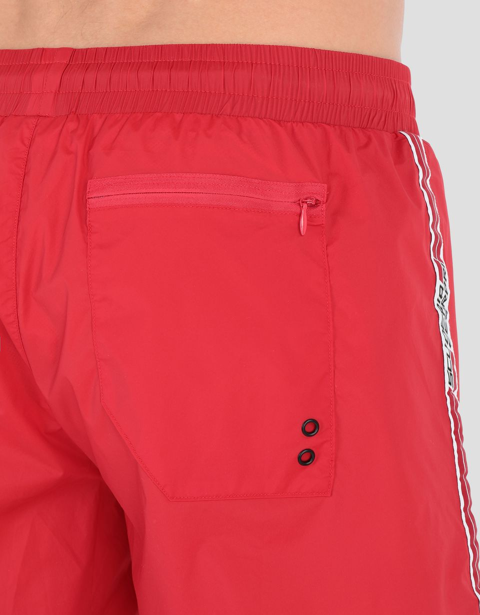 Scuderia Ferrari Online Store - 法拉利车队Icon Tape泳衣 - 泳装平角短裤