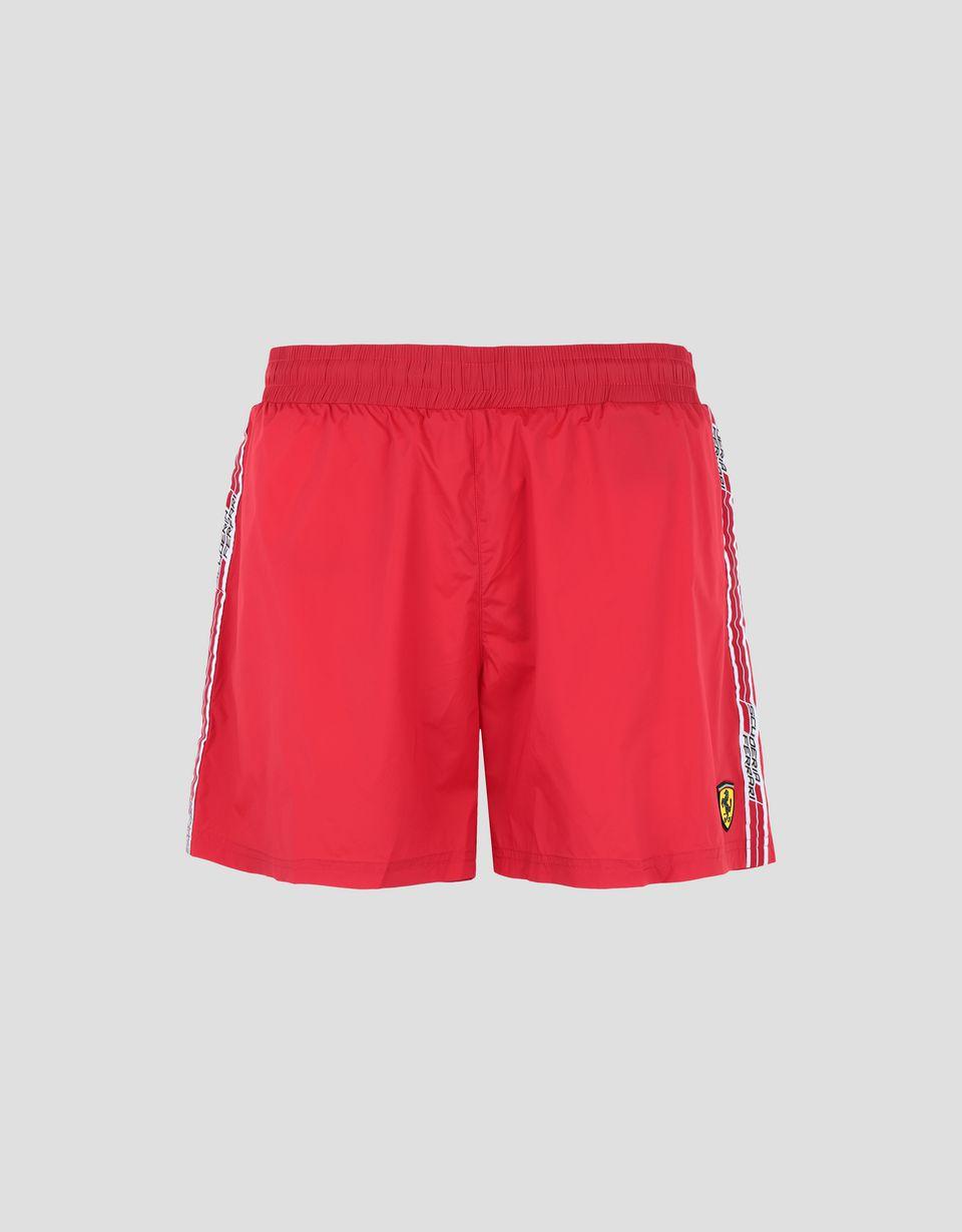 Scuderia Ferrari Online Store - Maillot de bain avec Icon Tape  Scuderia Ferrari - Shorts de bain